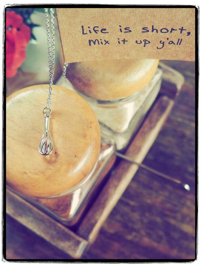 Paula Whisk Necklace Gift for Bakers