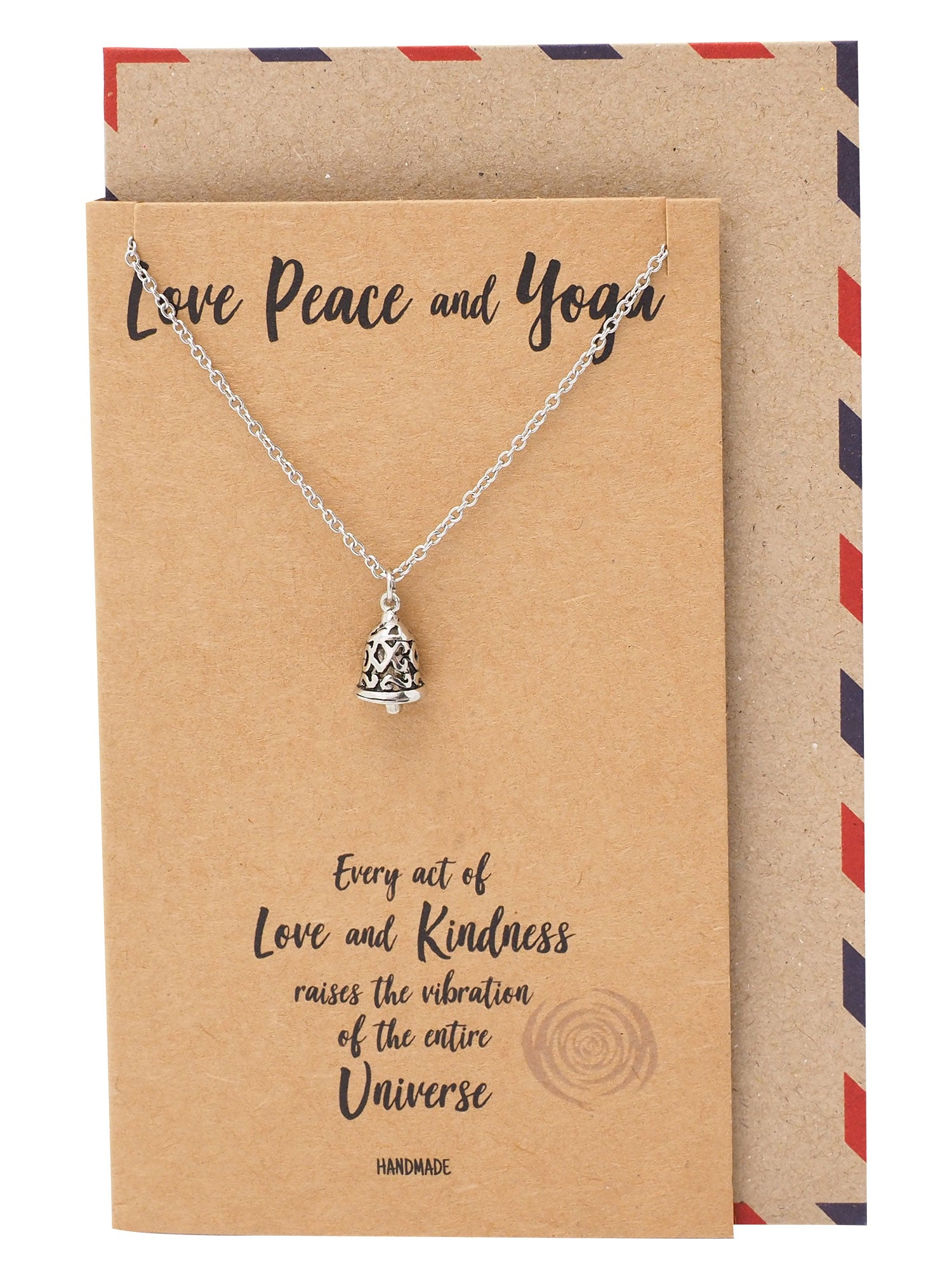 Matilda Love, Peace and Yoga Necklace