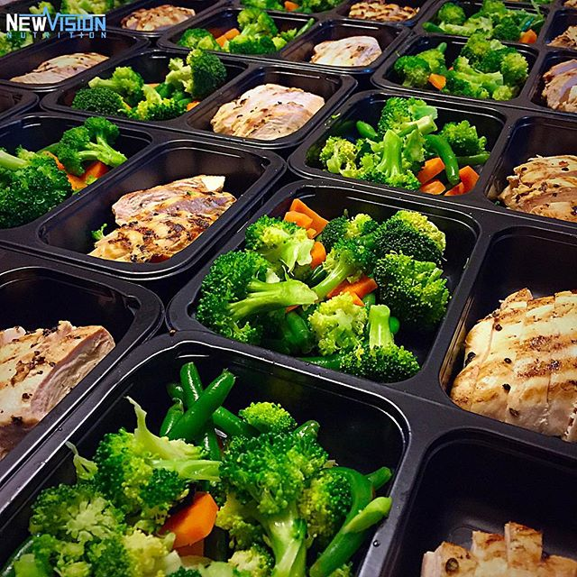 New Vision Nutrition Meal Prep