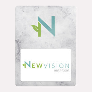 New Vision Nutrition Gift Card