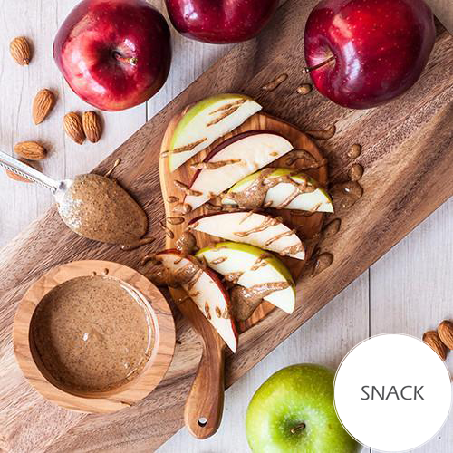 NvN Almond Butter and Sliced Apples
