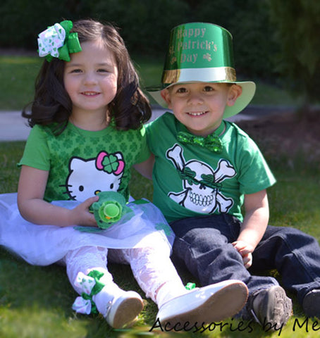 St.Patrick's Day Hair Bows