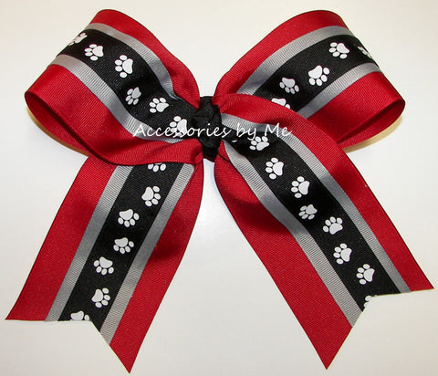 Georgia Bulldogs Spirit Big Cheer Bow