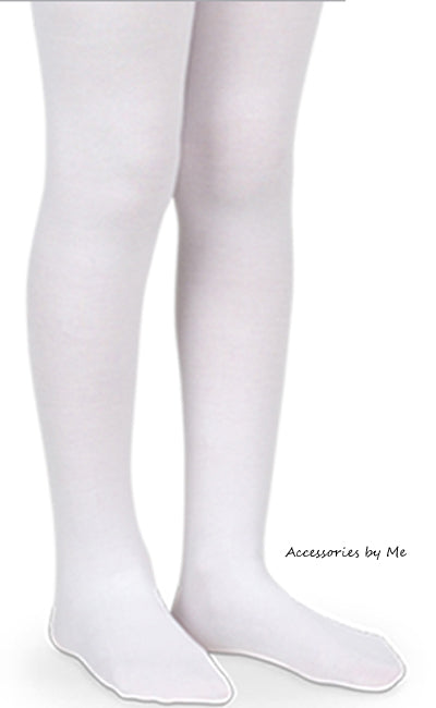 Microfiber White Tights