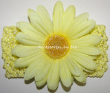 Daisy Flower Wide Headband