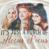 Hocus Pocus Halloween Shirt - Sanderson Sisters - Just a bunch of Hocus Pocus Unisex Baseball Tee