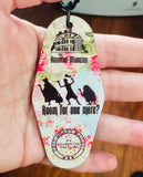 Keychain - Motel style - Disney Haunted Mansion