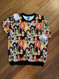 Sweatshirt - Disney Princess Collage
