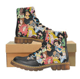 Combat Boots - Disney Princess Collage
