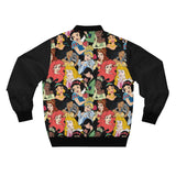 Unisex Bomber Jacket - Princess Collage
