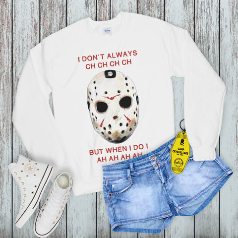 Sweatshirt - Jason vorhees mask