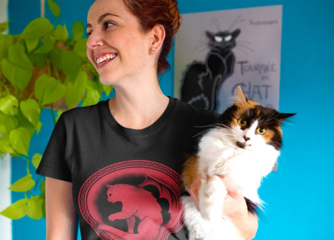 Unisex Jersey Short Sleeve Tee - Mother of Cats