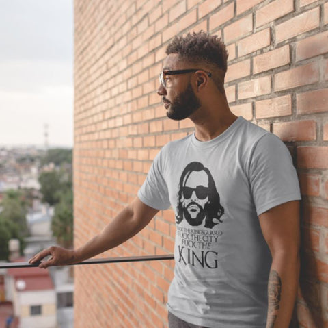 Tee Tank or Sweatshirt - Fuck the King