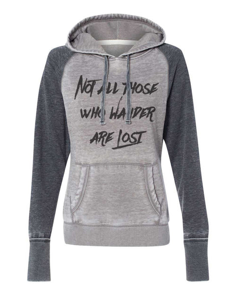 Lord of the Rings Tolkien quote Not all those who wander are lost super soft hoodie sweatshirt kangaroo pockets ladies girls (s, m, l, xl, xxl)