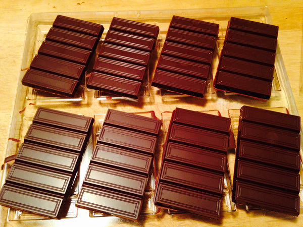 Our First Batch Of Chocolate