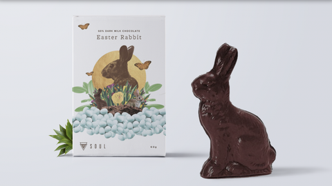 Dark Milk Chocolate Rabbit