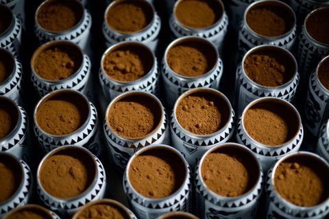 Cocoa Powder Cans