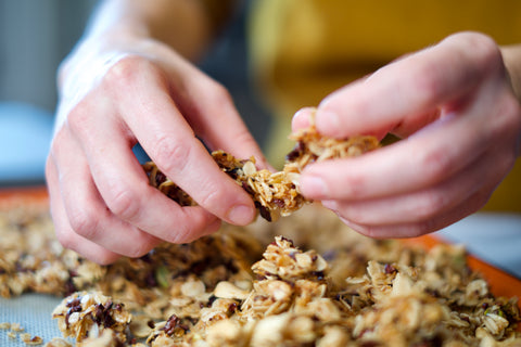 Breaking Apart The Granola