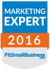 FitSmallBusiness Badge - Marketing Expert 2016