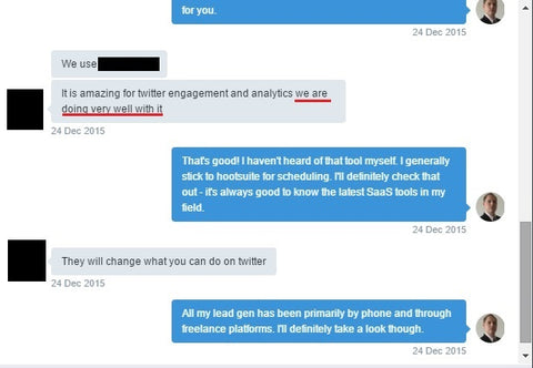 Twitter Marketing Automation Conversation 3