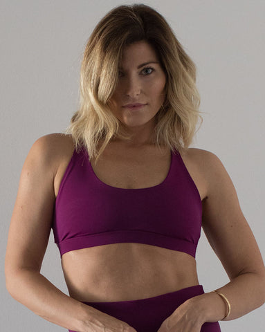 Berry | Power Fit Bra