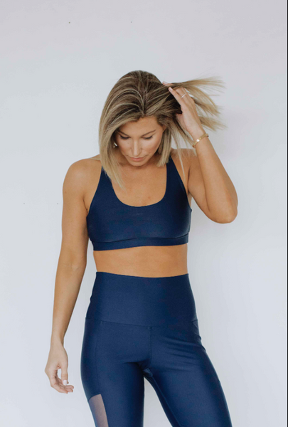 Navy | Power Bra