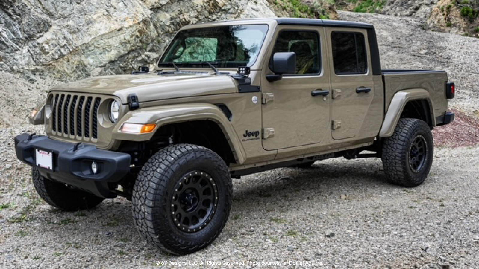 Jeep Gladiator posing for a photo