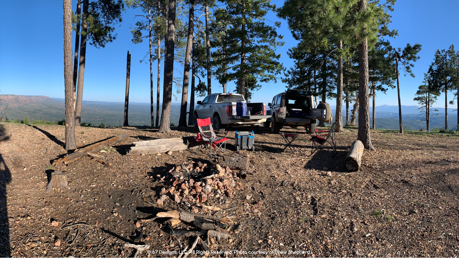 Camping with Ford Ranger and Jeep Wrangler