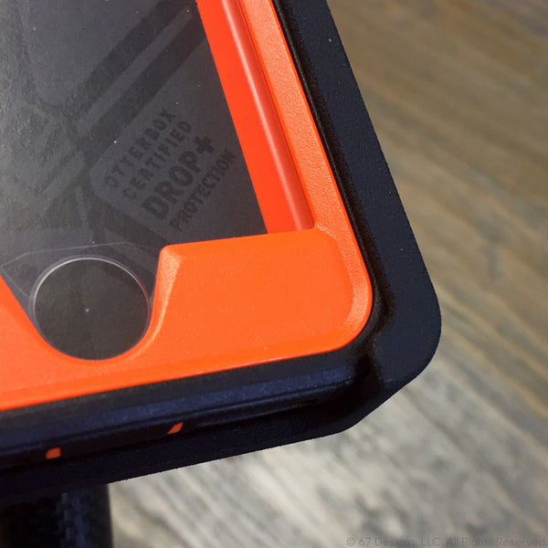 3D Printed Device Holder - iPhone 7 Otterbox Defender Case