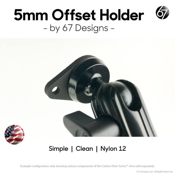 5mm Offset Mount