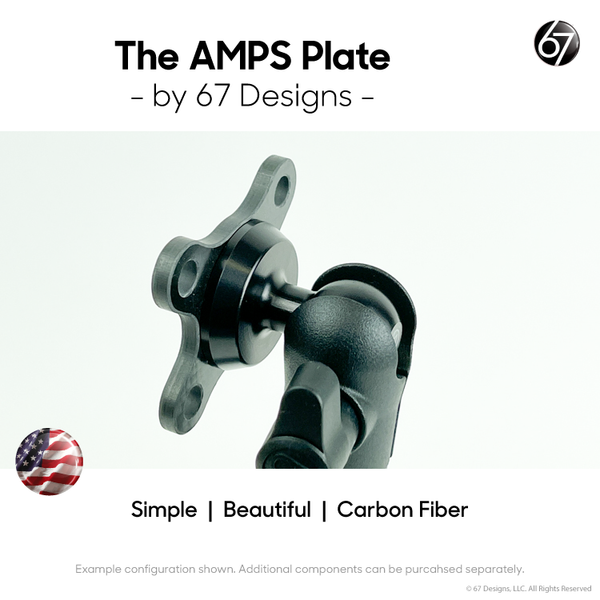 Amps Plate by 67 Designs