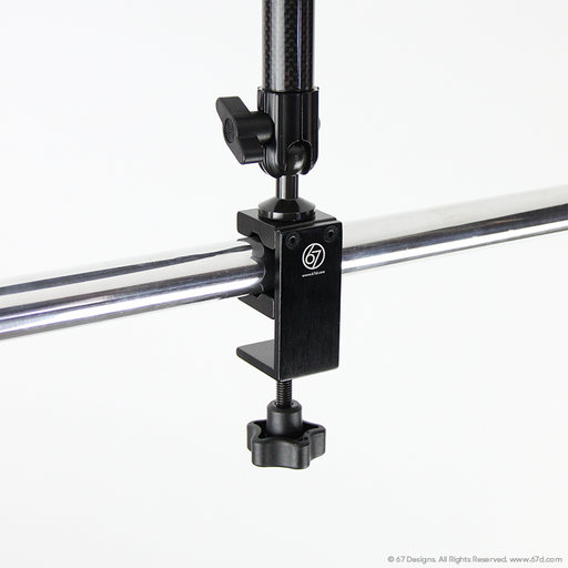(CF) Carbon Fiber Series - Large Clamp Mount