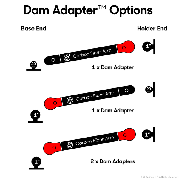Dam Adapter by 67 Designs