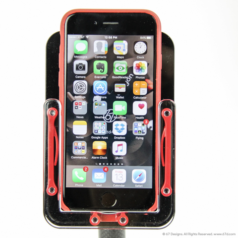 (CF) Carbon Fiber Series - iPhone 6 6S Mount