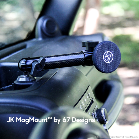 (CF) Carbon Fiber Series - Jeep® JK Mount Magmount