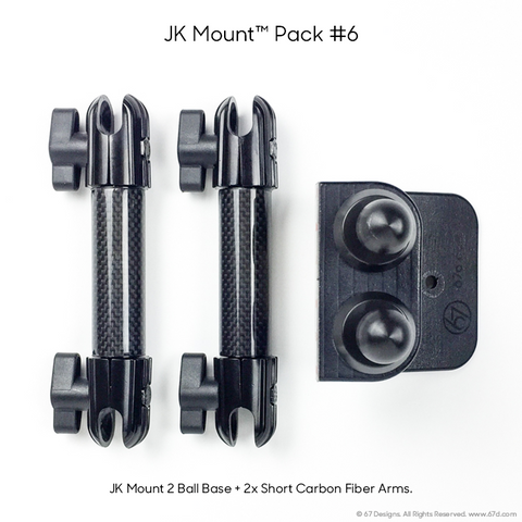 Jeep® JK (2011-2018) Packs, Bases and Options – 67 Designs