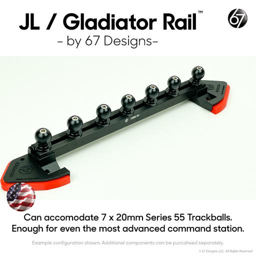 JL /Gladiator Rail™ by 67 Designs