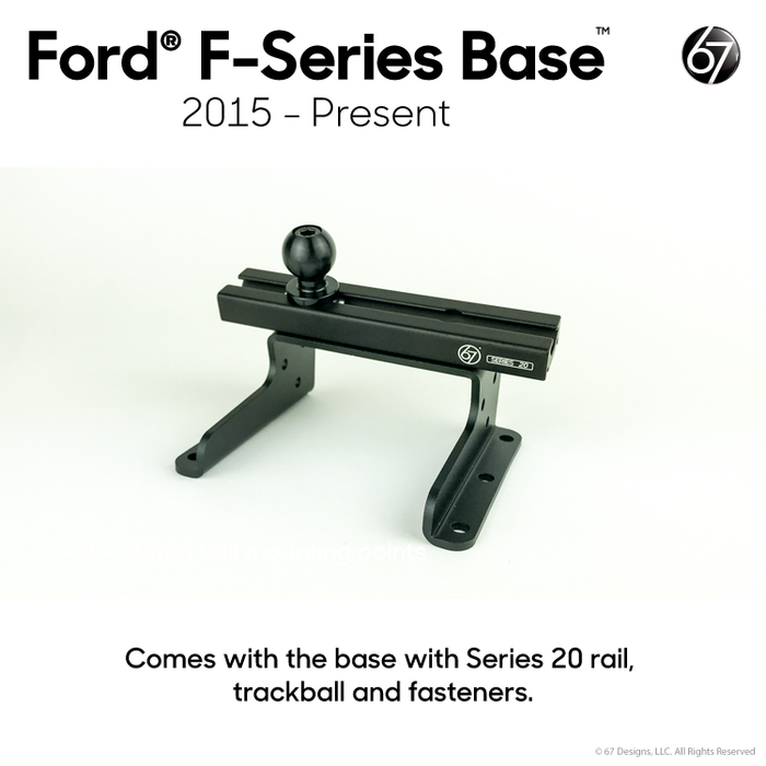 Ford® Base with Series 20 Rail