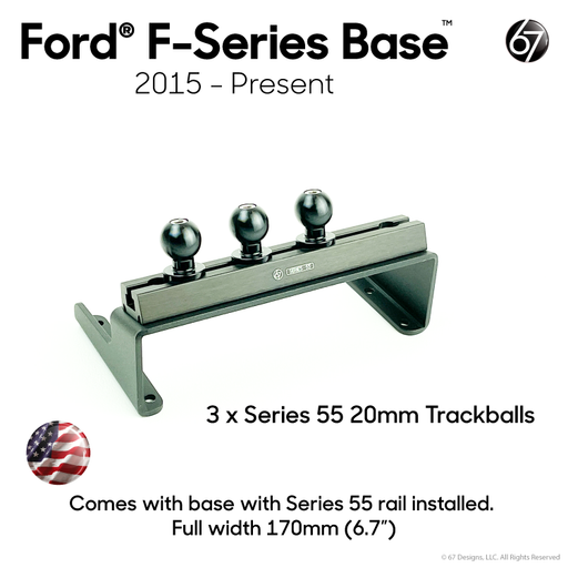 Ford® Base with Series 55 Rail Options