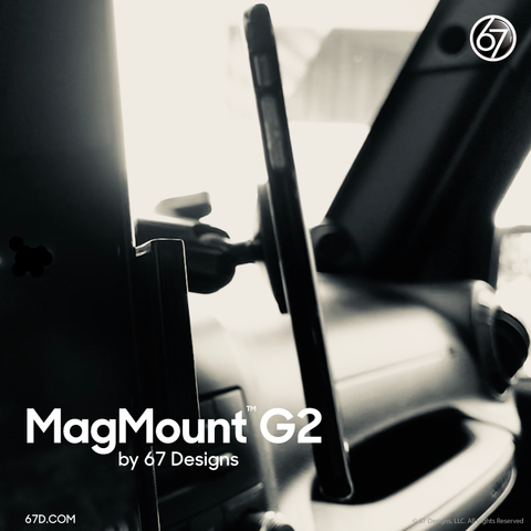 magmount and stainless steel plate