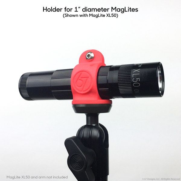 "67 Designs MagLite 1"" body holder"