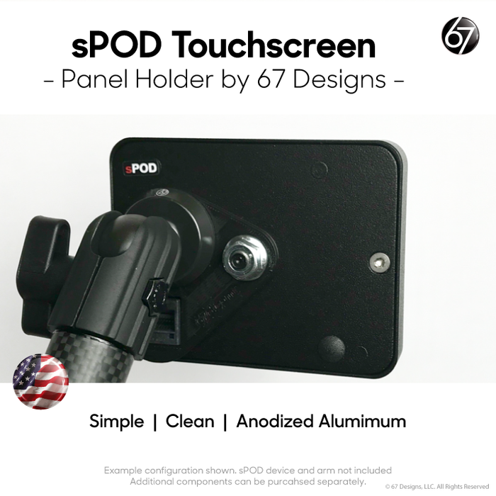For the sPOD Touchscreen Switch Panel