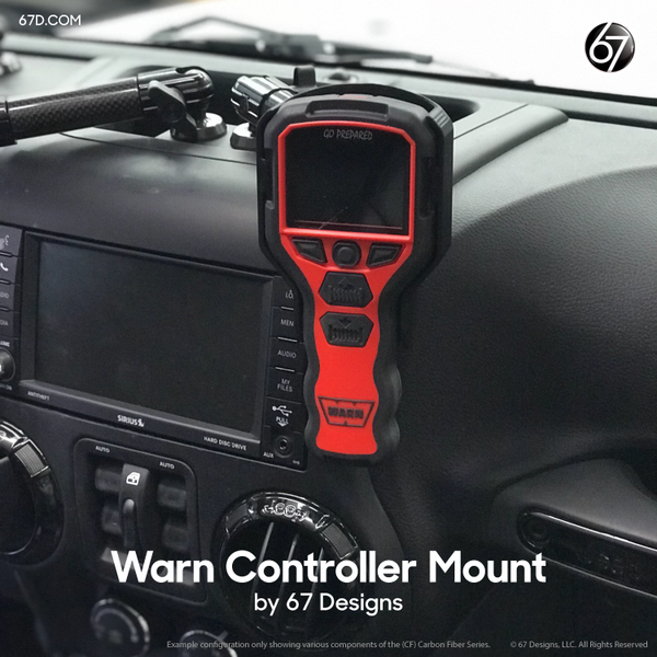 Warn Winch Controller Holder