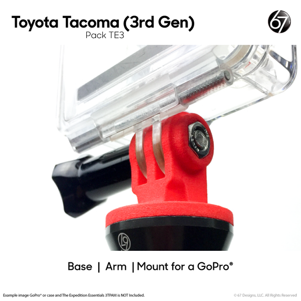 Tacoma 3rd Gen Expedition Essentials Upgrade Pack for GoPro®