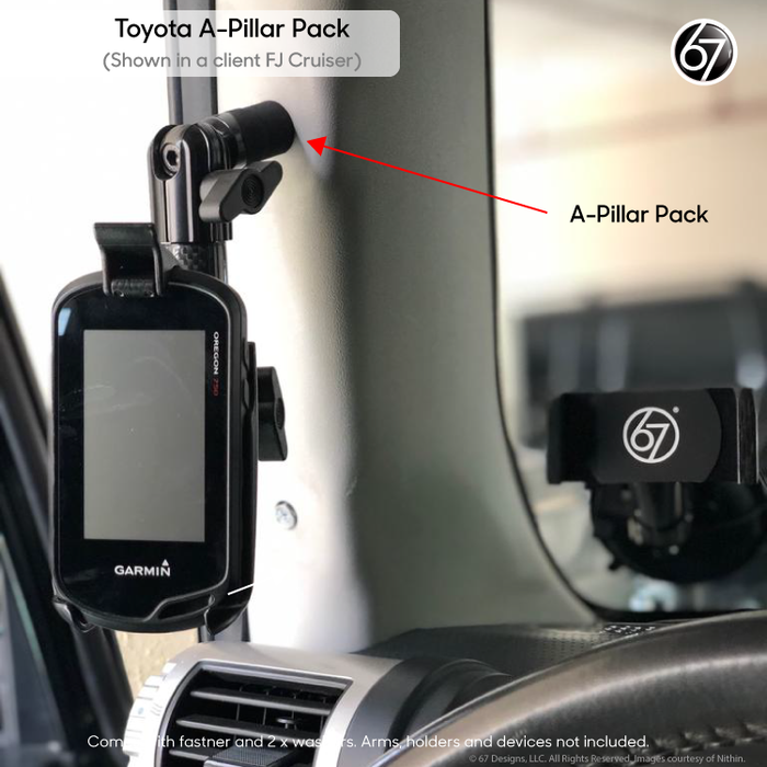 Toyota A-Pillar Mounting Point Pack