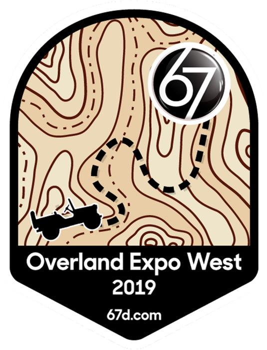 Overland Expo West 2019 Sticker
