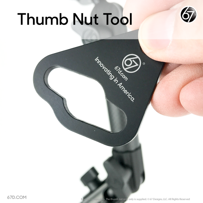 Thumb Nut Tool by 67 Designs
