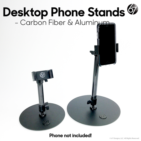 Desktop Base, Fixed Arm and Universal for Phones