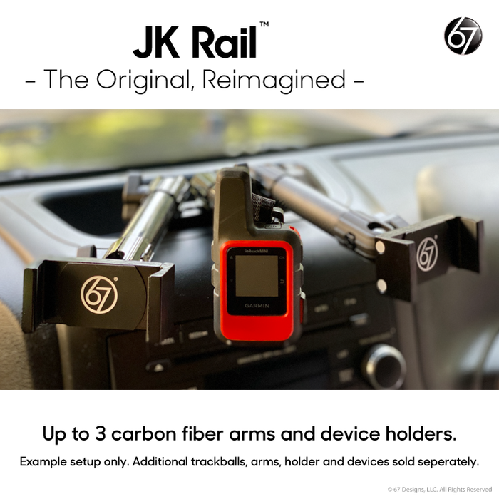 Jeep® JK Rail™ Mount with Universal Mount