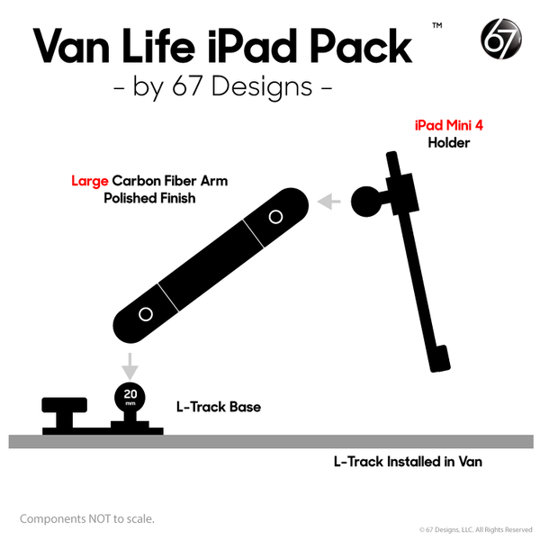 L-Track iPad Packs